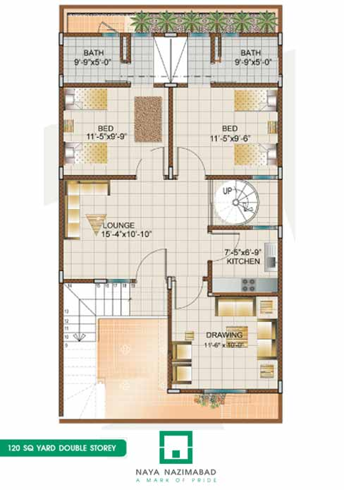 Bungalows naya nazimabad 200 yards house design