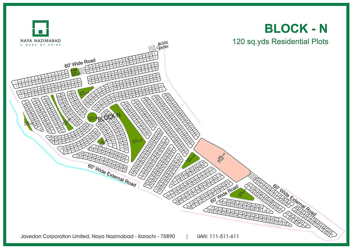 Residential Plots Naya Nazimabad